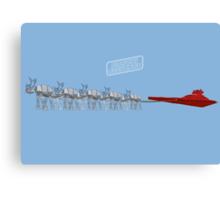 Season's Geekings - Sleigh Canvas Print