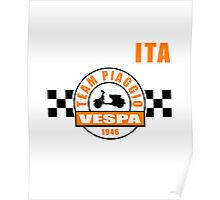 Vespa Team Poster