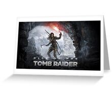 Rise of the Tomb Rider Greeting Card