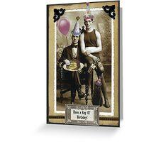 A Gay Birthday Greeting Card