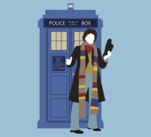 Four and the TARDIS by Ebonrook
