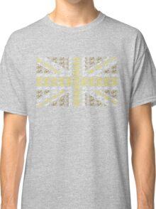 Bike Flag United Kingdom (Gold - Small) Classic T-Shirt