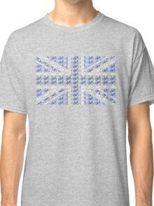 Bike Flag United Kingdom (Blue - Small) Classic T-Shirt