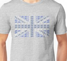 Bike Flag United Kingdom (Blue - Small) Unisex T-Shirt