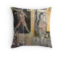 Oh! Oh. Throw Pillow