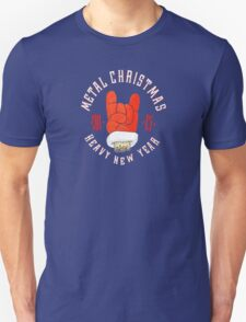 Metal christmas and heavy new year T-Shirt