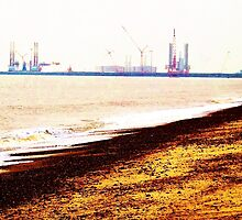 Great Yarmouth Docks- One by Vincent J. Newman