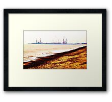 Great Yarmouth Docks- One Framed Print
