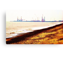 Great Yarmouth Docks- One Canvas Print