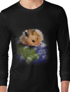 Earth Day Hamster Long Sleeve T-Shirt