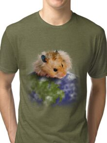 Earth Day Hamster Tri-blend T-Shirt