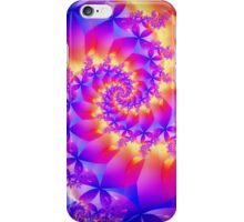Multi-Coloured Spiral Fractal iPhone Case/Skin