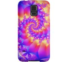 Multi-Coloured Spiral Fractal Samsung Galaxy Case/Skin