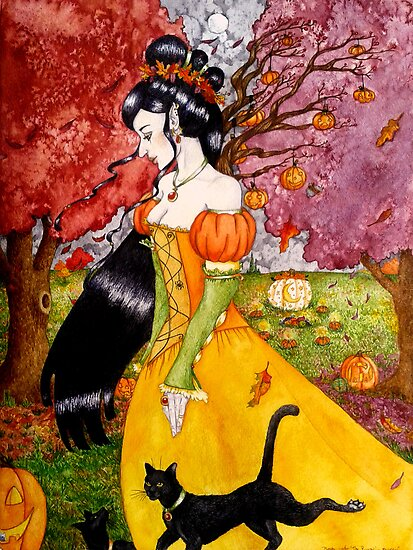 Pumpkin Queen by Neely Stewart