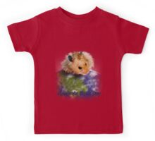 Celebrate Earth Day Hamster Kids Tee