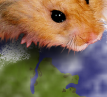 Earth Day Everyday Hamster Sticker