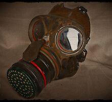Steampunk Retro Respirator by dianegaddis