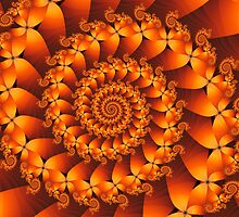 Fire Spiral by Kitty Bitty