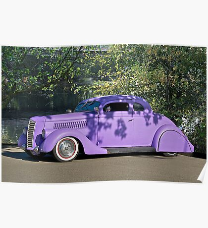 1936 Ford 'Praise the Low'rd' Coupe Poster