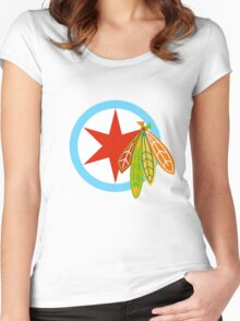 City of the Four Feathers – Alternate Women's Fitted Scoop T-Shirt
