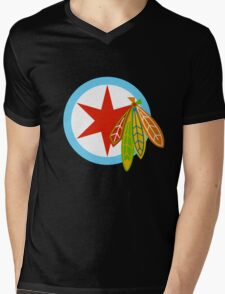 City of the Four Feathers – Alternate Mens V-Neck T-Shirt