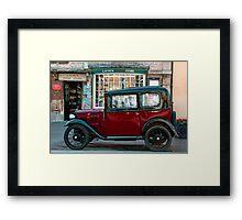 Lacock National Trust Framed Print