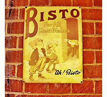 Ah! Bisto Photographic Print