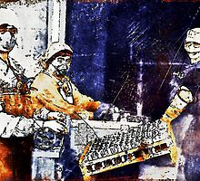 WWI Women Working in Munitions Plant by dianegaddis