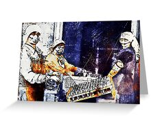 WWI Women Working in Munitions Plant Greeting Card