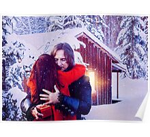 A Rumbelle Christmas Moment Poster