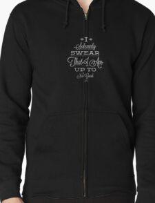Quote T-Shirt Zipped Hoodie