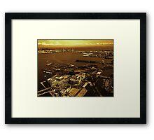 Yokohama, Japan Framed Print
