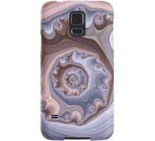 Purple Fractal Samsung Galaxy Case/Skin