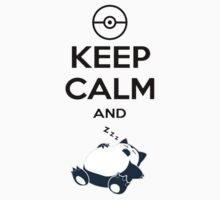 Keep Calm and Snorlax T-Shirt