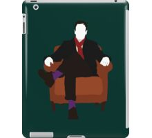 Sherlock Holmes - Elementary V.2 iPad Case/Skin