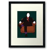 Sherlock Holmes - Elementary V.2 Framed Print