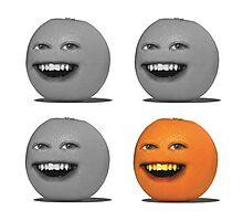 Alternative Four Annoying Oranges Photographic Print