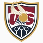 United States of America Quidditch Logo Medium by mlny87