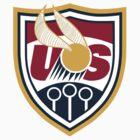 United States of America Quidditch Logo Medium by mlny87