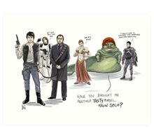 The Adventures of Kevin Solo Art Print