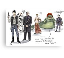 The Adventures of Kevin Solo Canvas Print