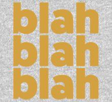 blah blah blah One Piece - Short Sleeve