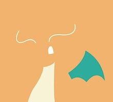 Dragonite iPhone Case by NellyMushBean