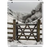 Gateway to a Slippery Slope iPad Case/Skin