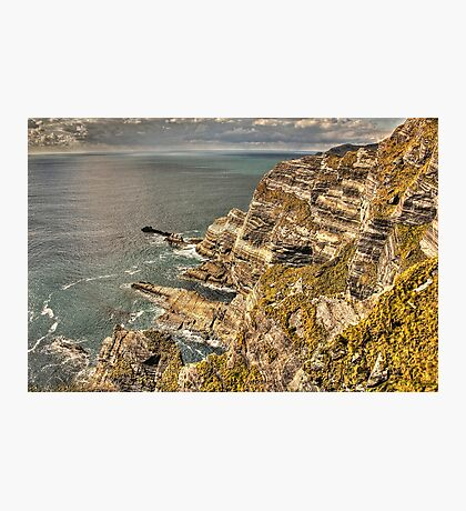 Cliffs, Ring of Kerry Photographic Print