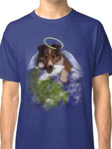 Earth Day Angel Sheltie Classic T-Shirt