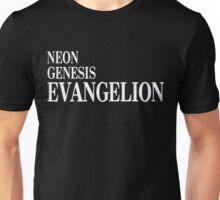 Neon Genesis Evangelion Title Card Unisex T-Shirt