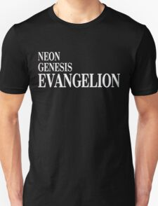 Neon Genesis Evangelion Title Card T-Shirt