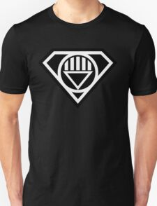 Black Lantern Superman insignia Unisex T-Shirt