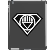 Black Lantern Superman insignia iPad Case/Skin